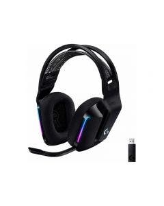 Headset Logitech G733 Lightspeed RGB Inalámbrico Negro
