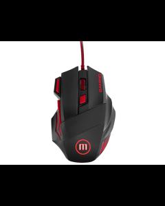 Mouse Maxell CA-MOWR-MXG Gaming Alámbrico Iluminado