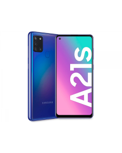 Samsung A21S, 128GB, Prepago Claro (Azul)