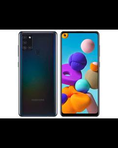 Samsung A21S, 128GB, Prepago Claro (Negro)