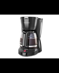 Black+Decker, CM0941B, Cafetera de 12 tazas, Jarra de vidrio
