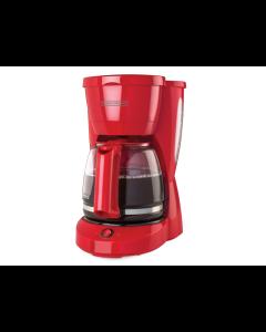 Cafetera Black+Decker, CM0941R, 12 Tazas, Color Rojo