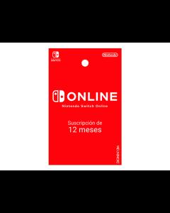 Tarjeta Nintendo Eshop Online 12 Meses