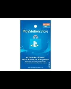 Tarjeta PlayStation Network de $10