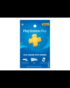 Tarjeta PlayStation Plus de 1 Año