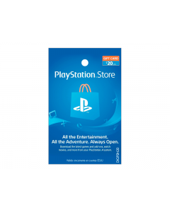Tarjeta PlayStation Network de $20