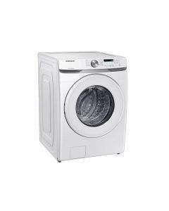 Secadora eléctrica de carga frontal, 44 libras, color blanco. DVE20T6000W, Samsung.