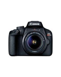 Cámara EOS Rebel T100 Premium Kit de 18 MP, sensor APS-C. Incluye lentes EF-S 18-55MM Y 75-300mm