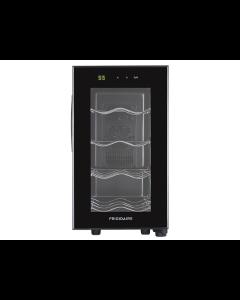 Enfriador de Vinos, capacidad para 8 Botellas, panel Touch, estantes de cromo, Frigidaire FWW083XBLB