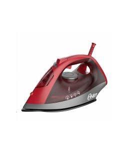 Oster®, GCSTBS6051, Plancha de Vapor, Color Roja de Cerámica