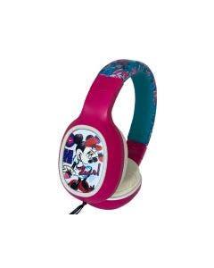 Audífono Vivitar Over-Ear Alámbrico Diseño Minnie -Rosado-