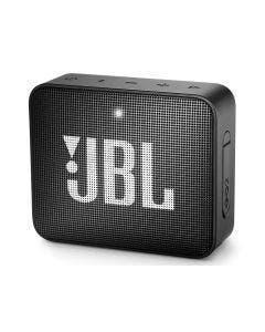 Bocina JBL GO 2 Inalámbrica Negra con Bluetooth, Protección Contra Agua y Micrófono