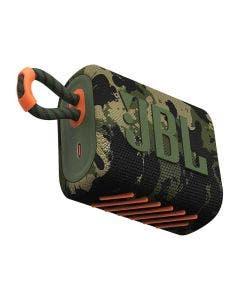 Bocina JBL GO 3 SQUAD Inalámbrica Camouflage con Protección al Agua y Polvo