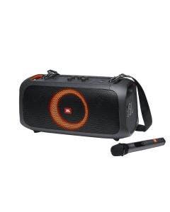 Bocina 100W RMS con Bluetooth/usb/bateria recargable/microfono incorporado