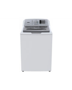 Lavadora de ropa, 48 libras de capacidad, tapa de vidrio de vidrio, Mabe LMH72201WBAB0.