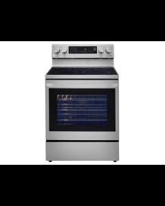 """Estufa eléctrica de 30"""" con Smart True Convection y sistema InstaView®, LG LREL6325F."""