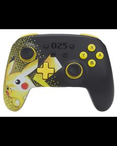 Control Nintendo Switch PowerA Enhanced Wireless Controller Pikachu Inalámbrico