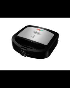 Black+Decker, SM24530, Sandwichera de placas profundas, de 700watts