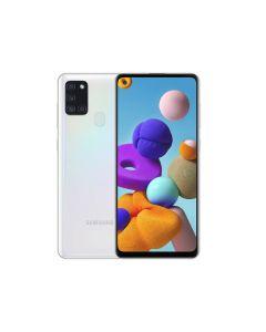 Samsung Galaxy A21s, 128GB, Dual SIM, Liberado (Blanco)