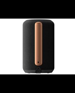 Bocina inalámbrica con sonido envolvente 360° con asistente de Google y WiFi