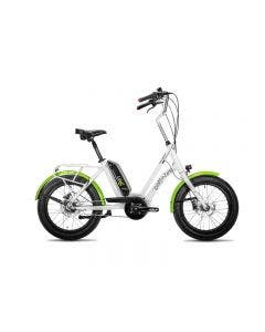 Bicicleta Electrica Corratec Life S Blanco con Verde