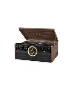 Tornamesa 6 en 1 Victrola VTA270BESP vintage