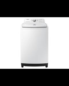 Lavadora  de ropa, 42 libras, tecnología Wobble y Magic Filter, Samsung WA19T7G6DWW.