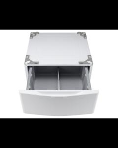 Pedestal con gaveta para lavadora y secadora LG de 48 libras, WDP4W.