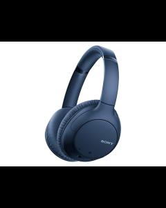 Audífonos SONY Over Ear Inalámbrico con Noise Cancelling y Google Assistant -Azul-.